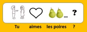 Aimes-tu les poires ?