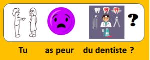 avoir peur du dentiste ou pas - le français illustré 135