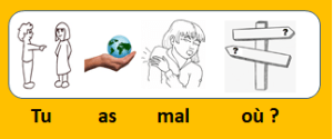 français illustré - vidéo 53 - Tu as mal où ?