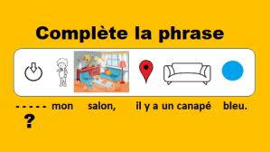 Apprendre le français en jouant / Learn French while playing /Aprende francés mientras juegas – vidéo 146 du Français illustré