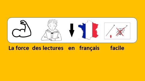 La fuerza de las lecturas en francés fácil