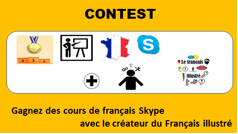 Win Skype French lessons with the creator of the Français illustré