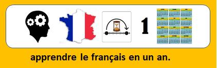 apprendre le français en un an