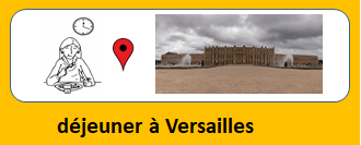 déjeuner à Versailles