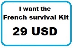 29 USD - I want the French survival Kit