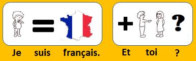 Je suis français. Et toi ?