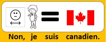 Non, je suis canadien.