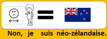 Non, je suis néo-zélandaise.