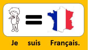 Je suis français.