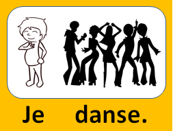Je danse.