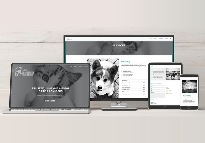 The Zookeeper's Companion website