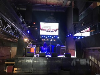 The Chameleon Club in Lancaster, PA - Pre-show