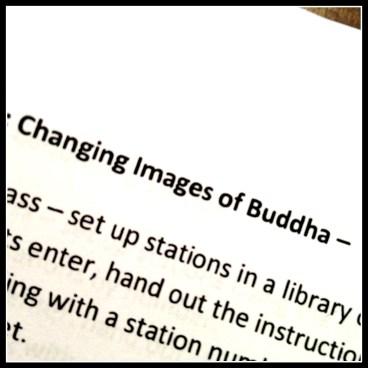 Buddha lesson