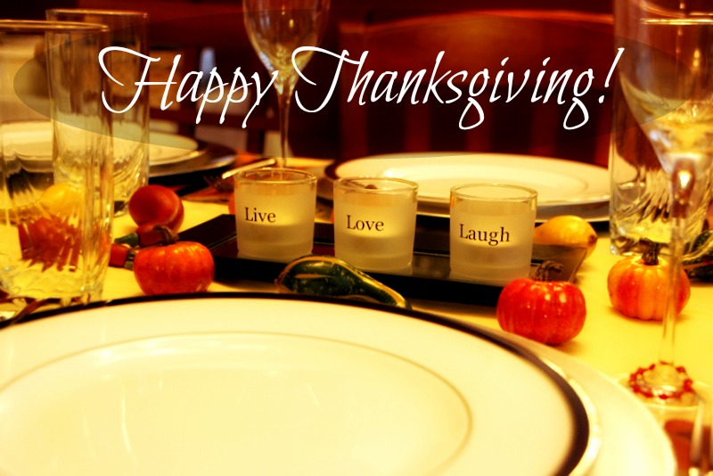 Practice Gratitude: Happy Thanksgiving!