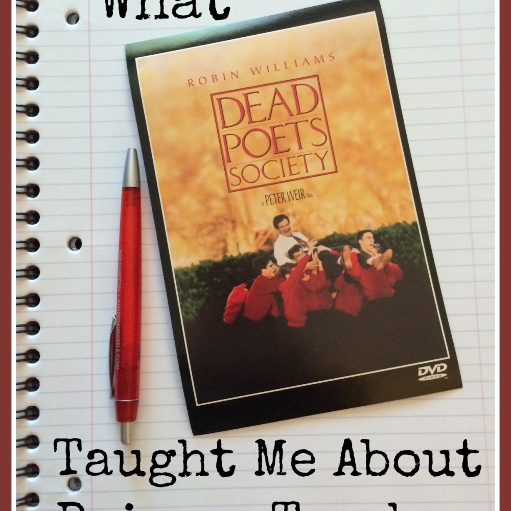 What Dead Poets Society Taught Me About Being a Teacher Left – Dead Poets Society Worksheet