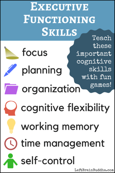 Strengthening Executive Function >> 10 Fun Activities That Teach Executive Functioning To Kids And Teens