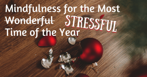 Meet Holiday Stress with Mindfulness
