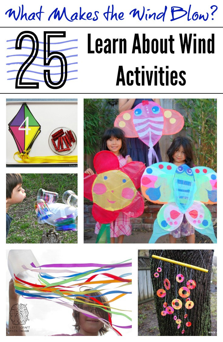 medium resolution of What Makes the Wind Blow? 25 Learn About Wind Activities - Left Brain Craft  Brain
