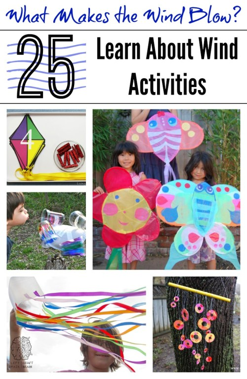 small resolution of What Makes the Wind Blow? 25 Learn About Wind Activities - Left Brain Craft  Brain