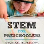 Stem For Preschoolers Left Brain Craft Brain