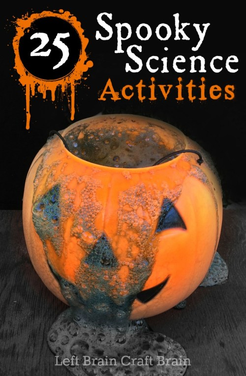 small resolution of 25 Spooky Science Activities for Halloween - Left Brain Craft Brain