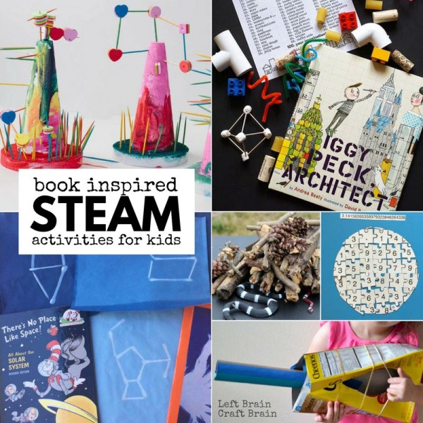 Book Inspired Steam Projects Kids - Left Brain Craft