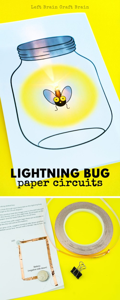 small resolution of this glowing lightning bug paper circuit card is a perfect project for stem and steam learning