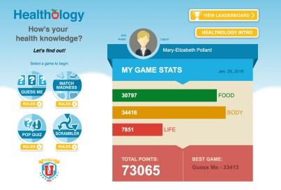 Healthology Home Page