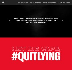Quit Lying web preview