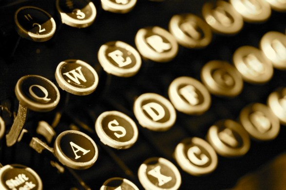 Typewriter - photo by Arielle Fragassi