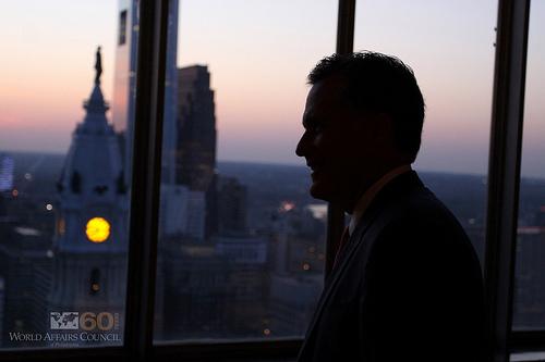 Mitt Romney - photo by World Affairs Council of Philadelphia