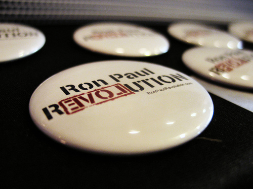 Ron Paul Revolution - photo by Jayel Aheram