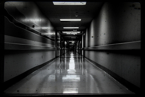 Hospital Hallway - photo by Mike