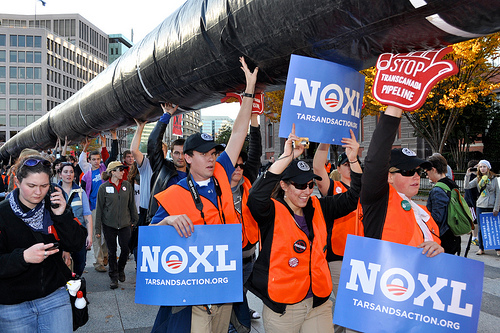Nobody Wants the Pipeline - photo by M. V. Jantzen