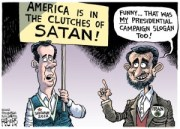 Satan by Rob Rogers - Pittsburgh Post-Gazette