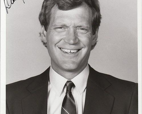 David Letterman - photo by Alan Light