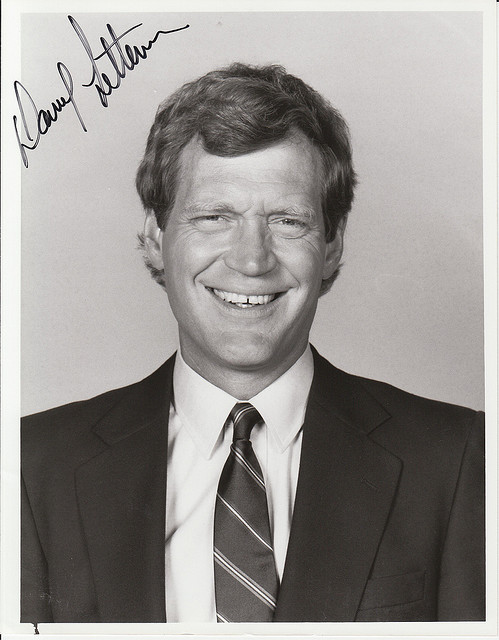 David Letterman - photo by Alan Light