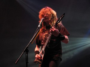 Dave Mustaine - Megadeth - photo by F de Falso