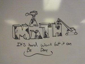 Math - photo by Lauren Coleman