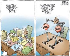 'The president should *DO* something!' - cartoon by John Cole - The Scranton Times Tribune