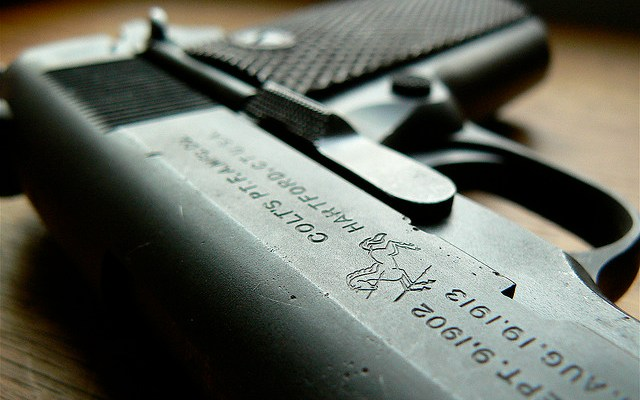 The Gun - photo by Auraelius