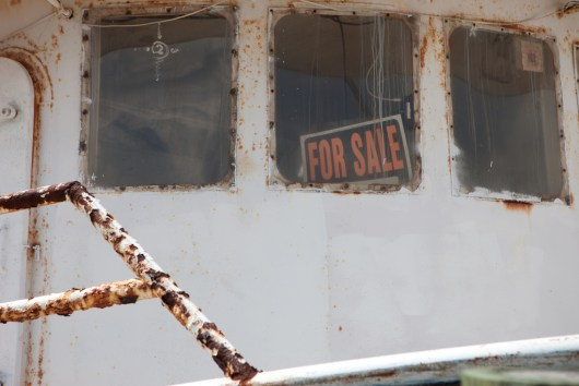Fishing Boat for Sale - photo by kris