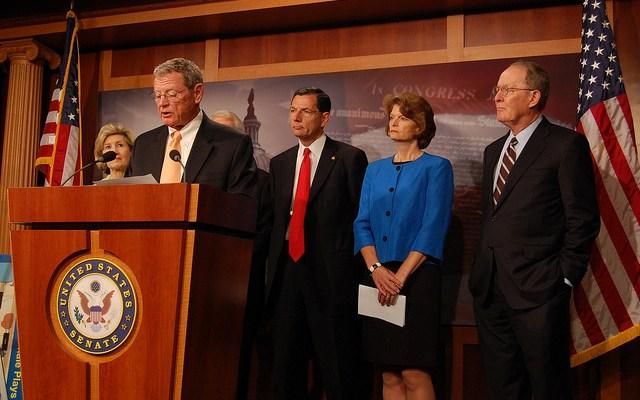Senator James Inhofe - photo by Robert Hune-Kalter