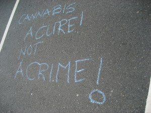 Marijuana March 2007 - photo by Dustin Sacks