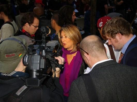 Naomi Klein - Occupy Wall Street - photo by David Shankbone