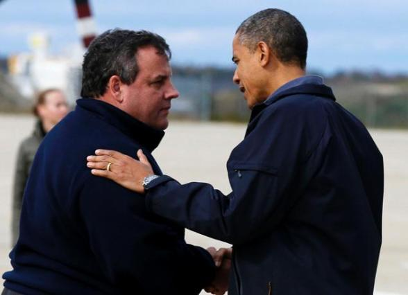Governor Chris Christie - President Obama