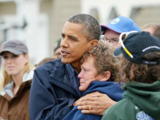 President Obama - Hurricane Sandy