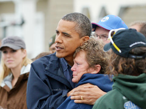 President Obama - Hurricane Sandy