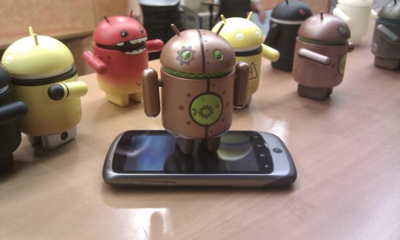 Android on Nexus - photo by Georgo10