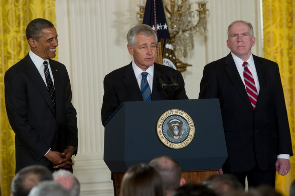 Chuck Hagel - photo by Secretary of Defense